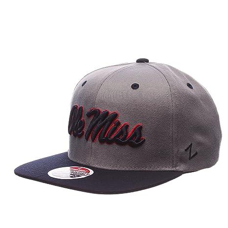 f1eb935aeb4e3 Amazon.com   ZHATS NCAA Mississippi Old Miss Rebels Men s Z11 Slate ...