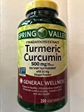 Spring Valley Turmeric Curcumin with Ginger