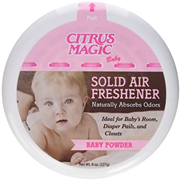 Citrus Magic Baby Solid Air Freshener, Pack Of 3, 8 Ounces Each