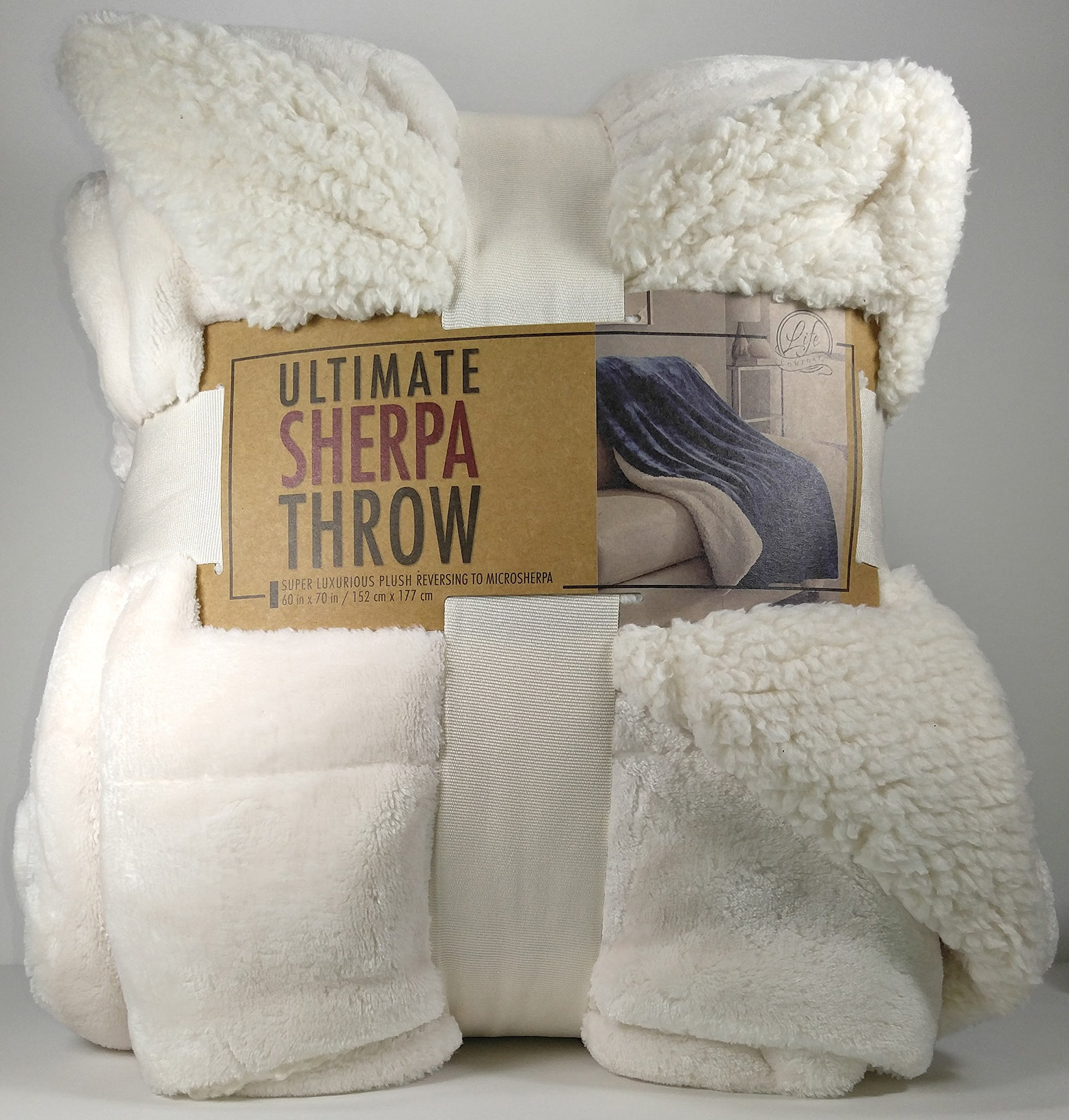 luxury orders blanket shipping brielle throw bedding faux couch reversible free product overstock bath over on fur