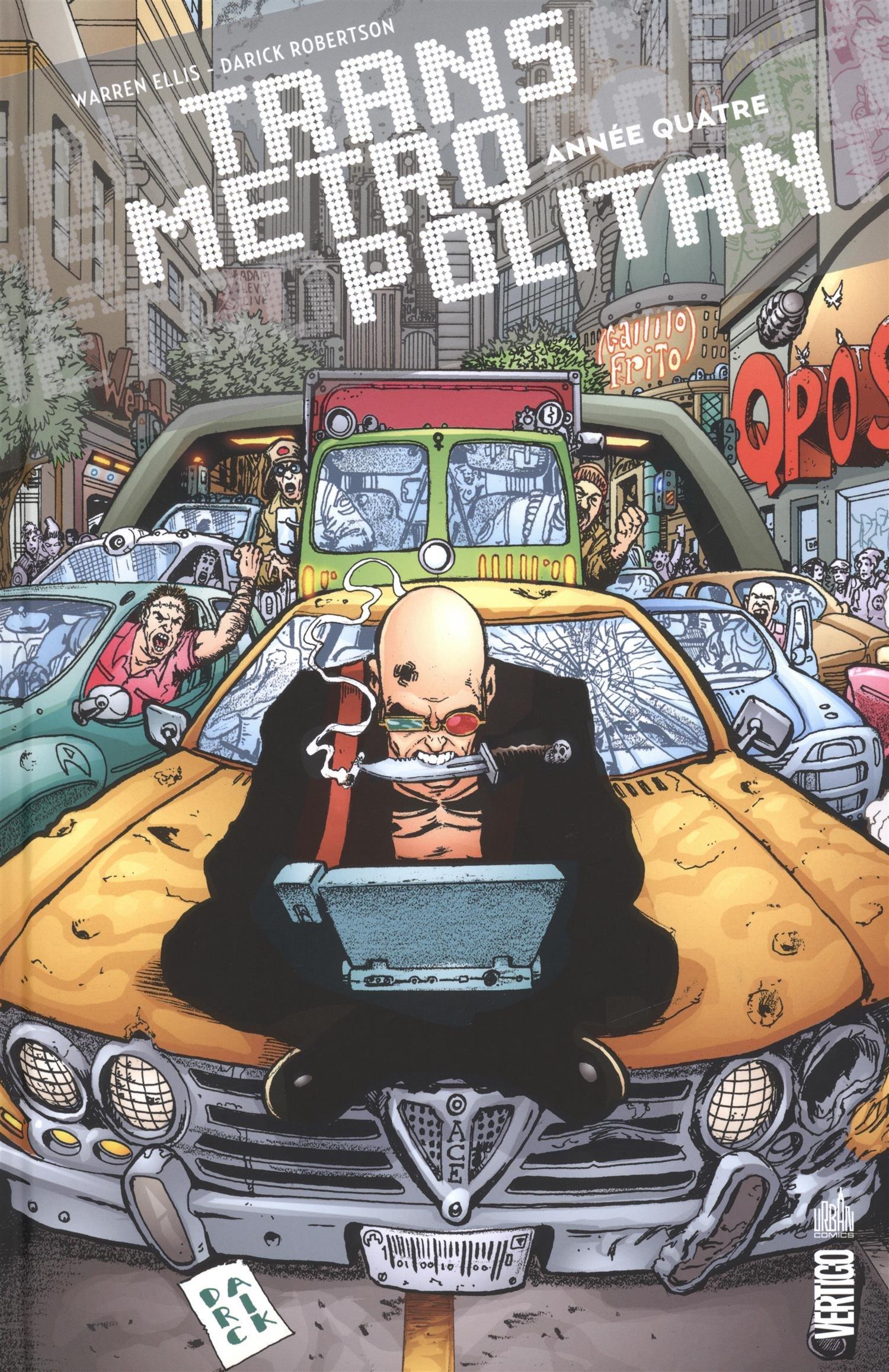 TRANSMETROPOLITAN tome 4 Album – 19 juin 2015 Ellis Warren Robertson Darick Urban Comics 2365776620