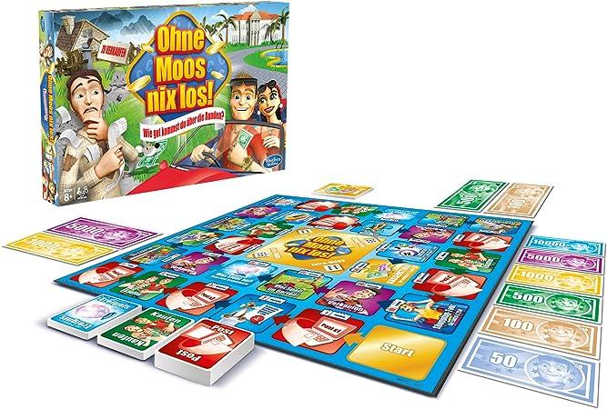 Hasbro 00032 - Ohne Moos Nix los!: Wie gut kommst du über Die Runden?: Amazon.es: Juguetes y juegos