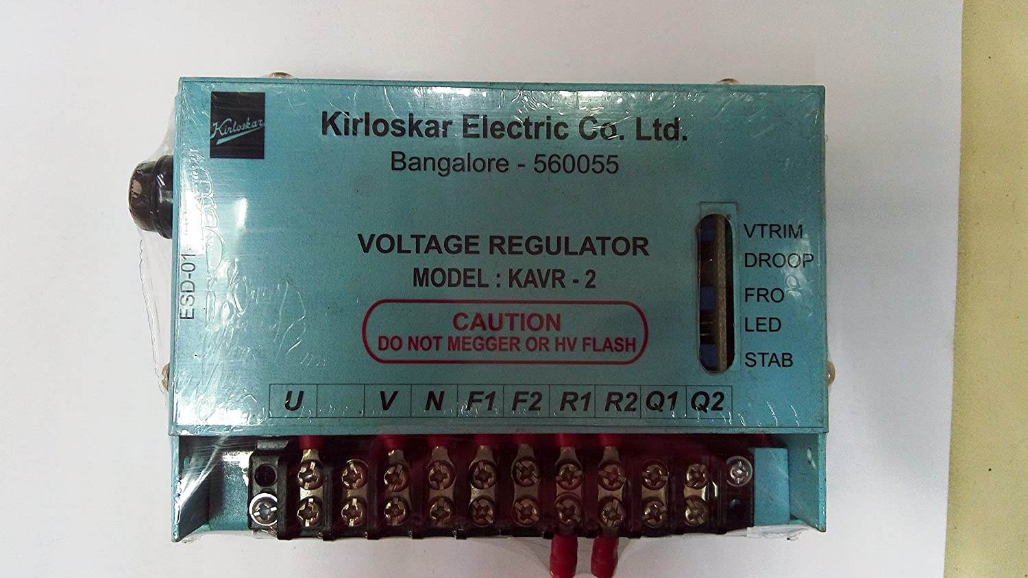 Eurotherm Kirloskar Avr Voltage Regulator Industrial Of Automatic Control And Regulation Its Input Scientific