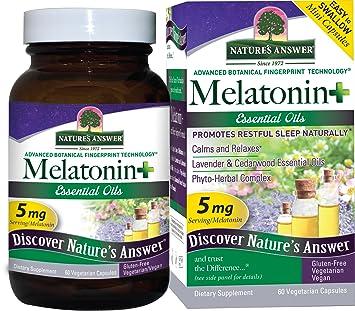 Amazon.com: Nature s Respuesta Melatonina +, 60 Count ...
