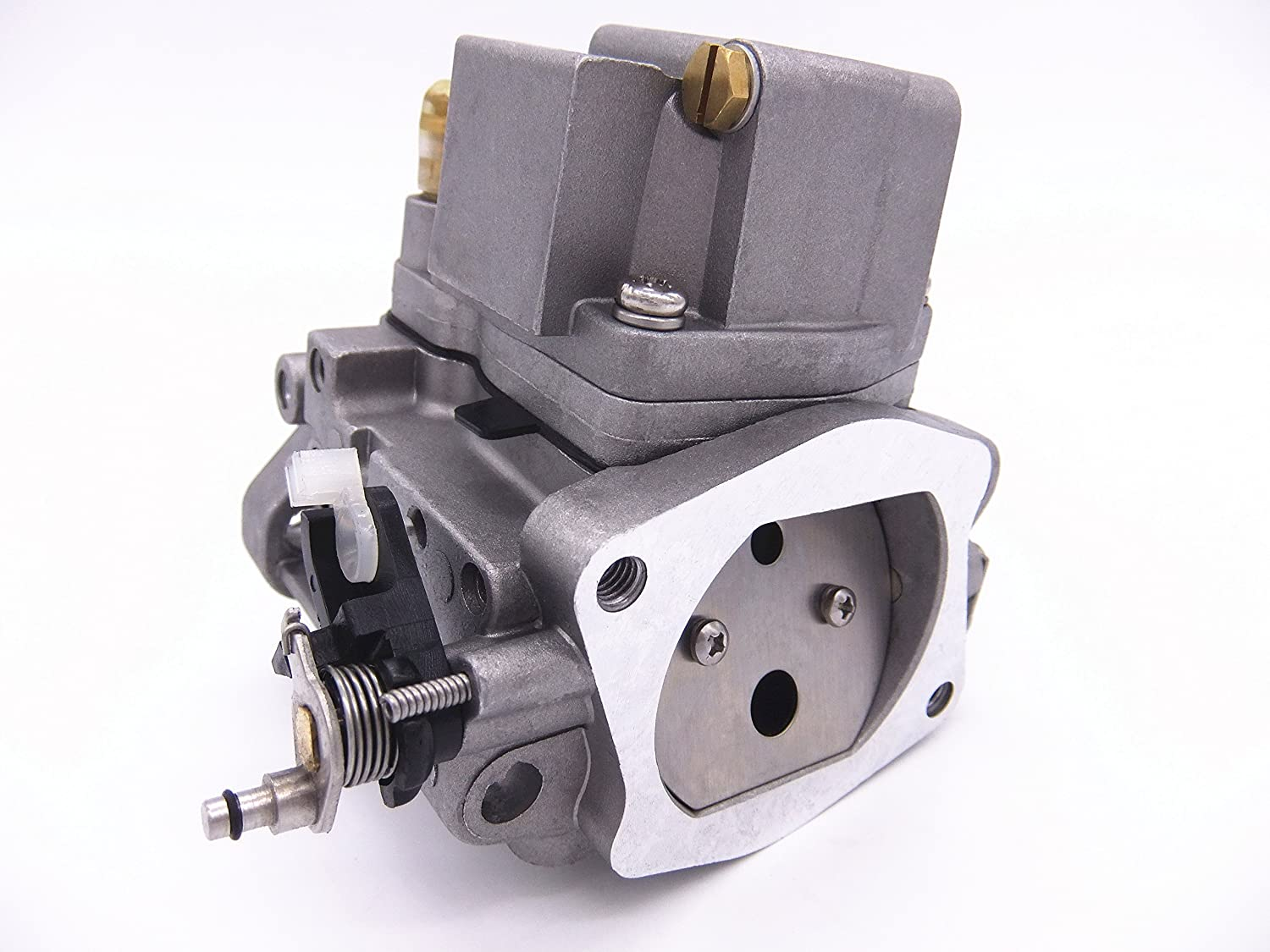 Amazon.com : Boat Motor Carbs Carburetor Assy 66T-14301-02 00 03 for Yamaha Enduro E40X 40HP 2-stroke Outboard Motors Engine : Sports & Outdoors