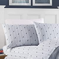 Deals on Nautica Cotton Breathable/Elastic Fit 3-Piece Bed Sheet Set