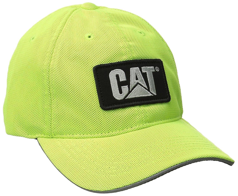 Caterpillar para hombre gorra de malla reflectante - Amarillo ...