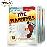 12 Pack Sets - Premium Hand Warmers, Toe Warmers or Body Warmers to ensure Maximum Warmth & Comfort in Winter (Please choose below)