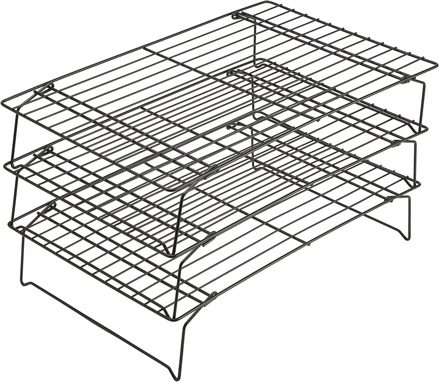 Chicago Metallic 3-Tier Cooling Rack, 15.75-Inch-by-9.75-Inch