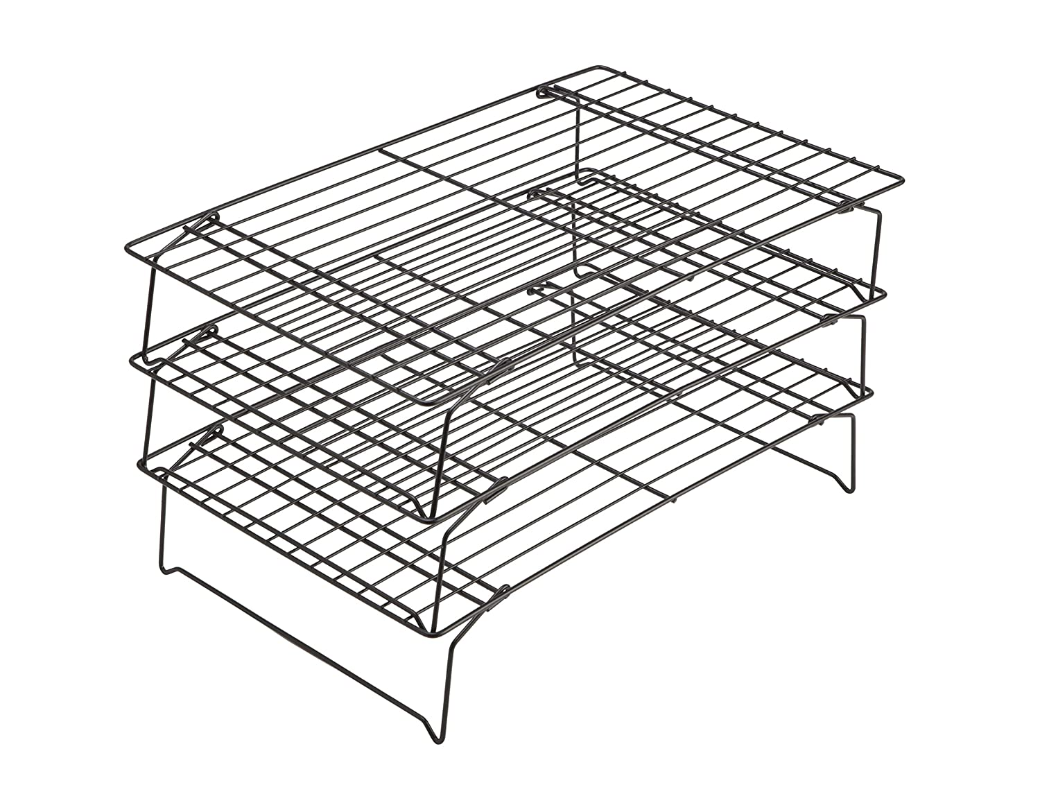 Chicago Metallic 3-Tier Cooling Rack, 15.75-Inch-by-9.75-Inch 17751
