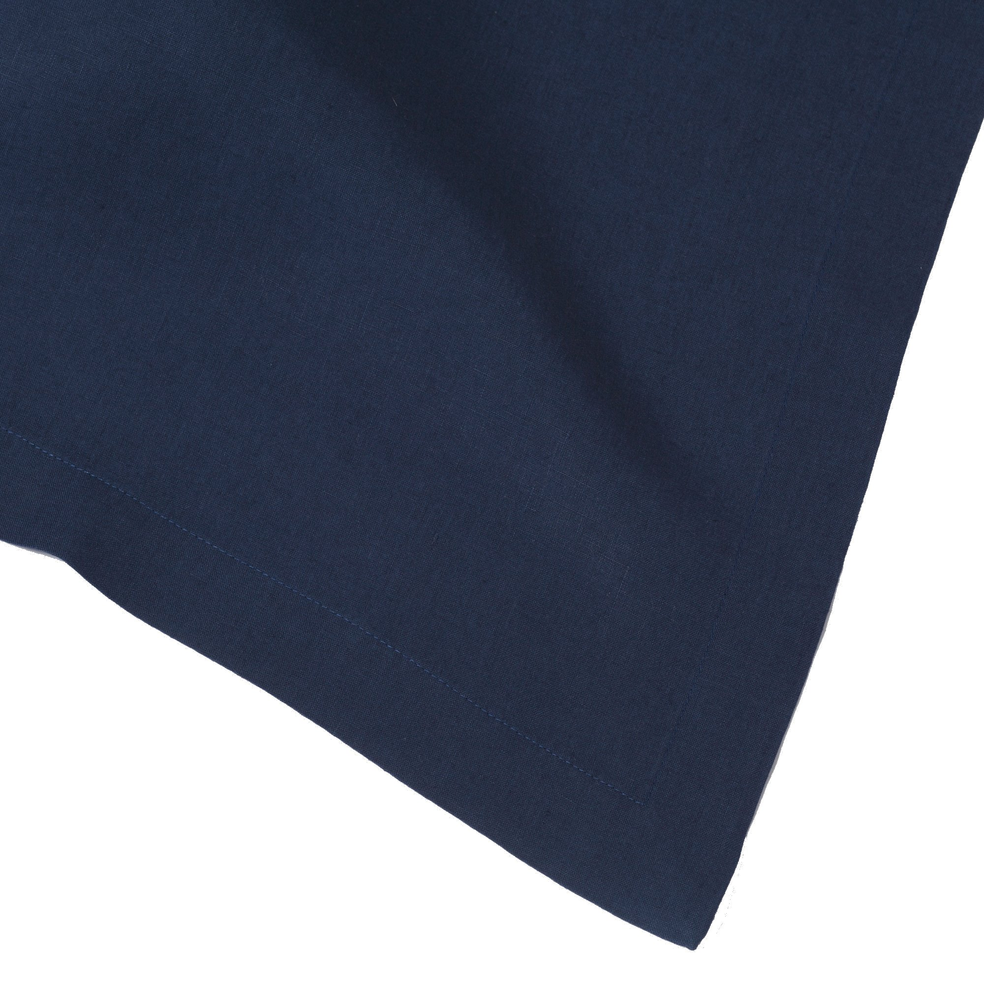 Navy Blue Pure Linen Tablecloth, 66''x144'' Rectangle