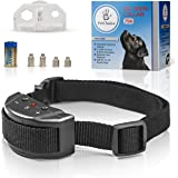 Bark Collar [Humanity Device] - Dog Shock Beep Anti-Barking Collar - No Bark Safe Control for Small-Medium-Large Dogs - Smart Chip - Stop Barking Device - Adjustable Size