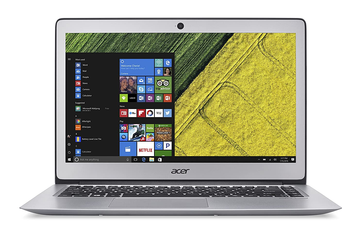 Amazon Com Acer Swift 3 14 Full Hd 7th Gen Intel Core I5 7200u