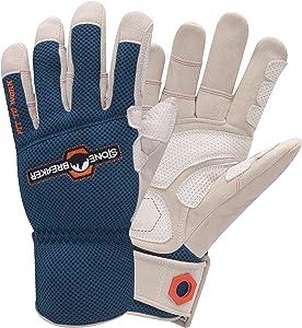 StoneBreaker Gloves Landscape Pro Large Work Glove, Large, Blue