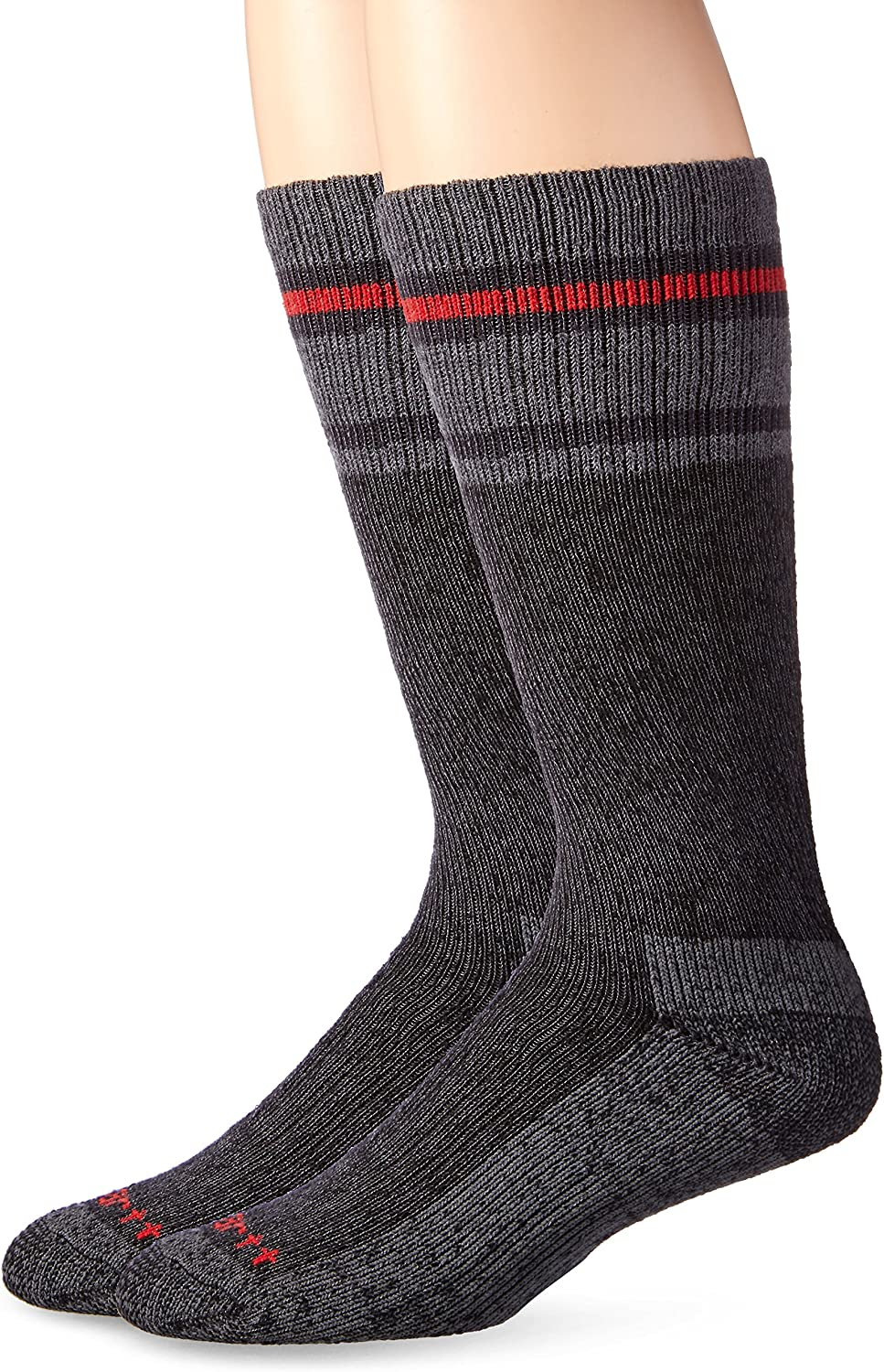 Carhartt Men's Heavy Duty Thermal Crew 2-Pair Socks