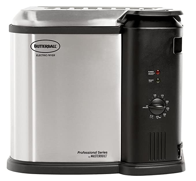 Amazon.com: Masterbuilt Butterball XXL 1650W Digital Electric 22 lb Turkey Fryer, Cinnamon: Kitchen & Dining