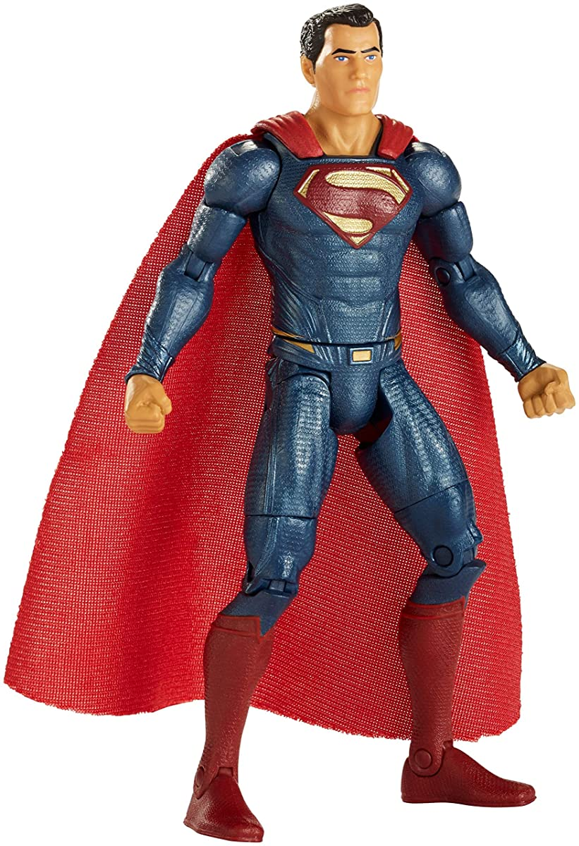"""Mattel DC Comics Multiverse Justice League Superman Action Figure, 6"""""""