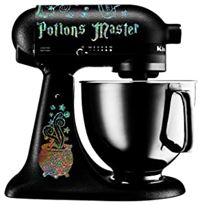 Potions Master Mixer Decal Set for Kitchenaid Mixers (Holographic)