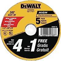 "4/"" X 3//64/"" X 3//8/"" Type 1 41 Metal Cut Off Wheels 100pc"