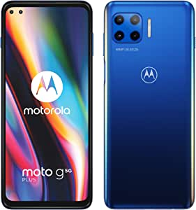 Motorola Moto G 5G Plus - Smartphone 128GB, 6GB RAM, Dual Sim, Blue: Amazon.es: Electrónica