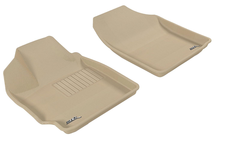 L1TY02402201 Classic Carpet Gray 3D MAXpider Complete Set Custom Fit Floor Mat for Select Toyota Yaris Models