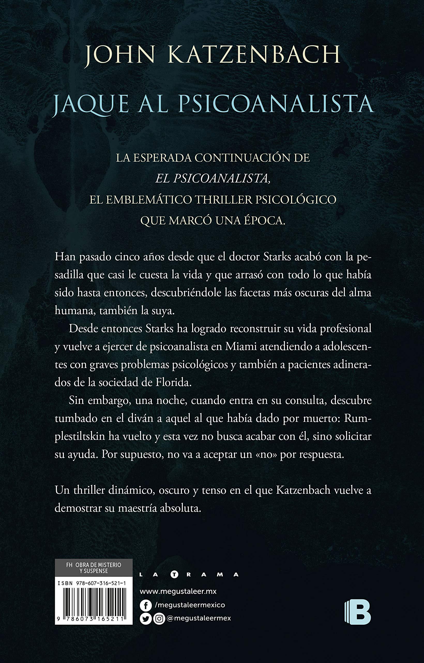 Jaque Al Psicoanalista Wiring Library Trailer Harness Han Varios 9786073165211 Amazoncom Books
