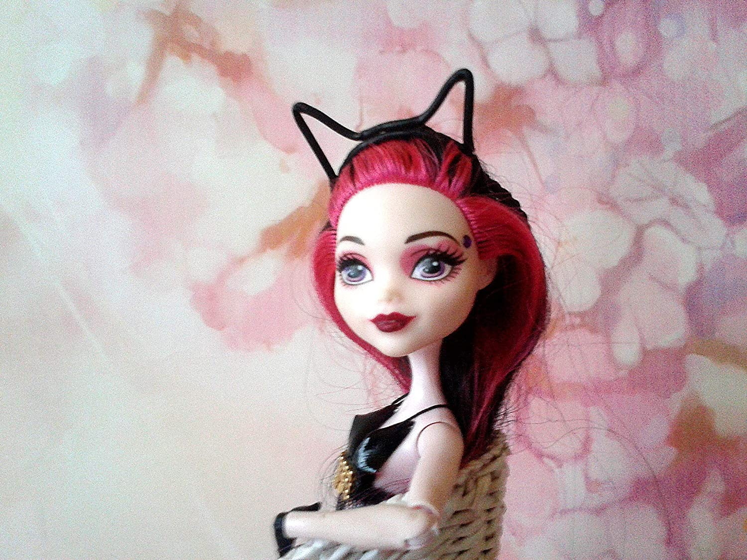 Cat ears headband for doll Miniature fashion hair accessories cosplay trending,