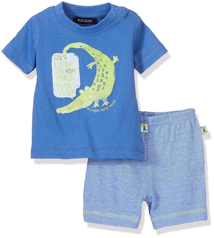 Blue Seven Baby-Jungen Bekleidungsset NB Kn Shirt Shorts