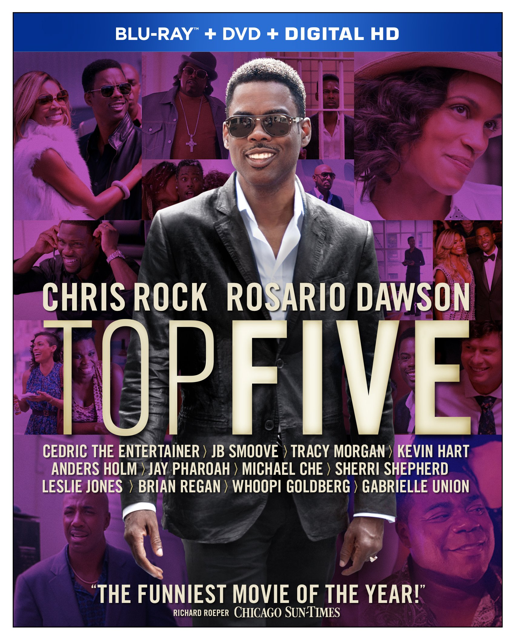 Blu-ray : Top Five (With DVD, Widescreen, , 2 Pack, AC-3)