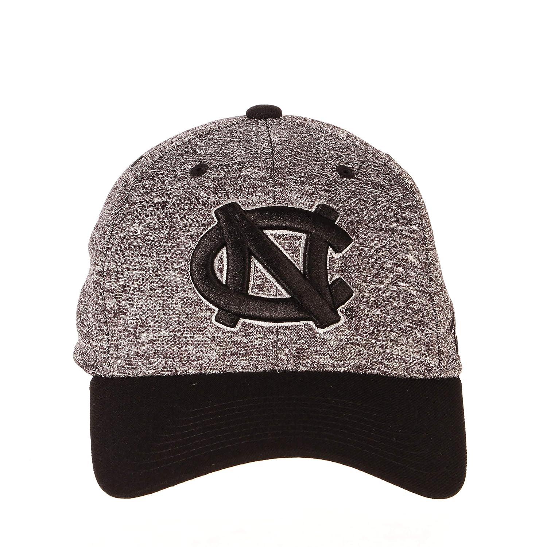 X-Large Charcoal//Black NCAA North Carolina Tar Heels Mens Interferenceinterference Z-Fit Cap