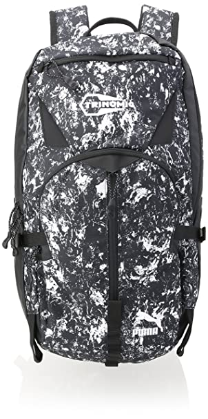 Puma Trinomic Backpack (073244 08) (Black / Graphic) (One Size)