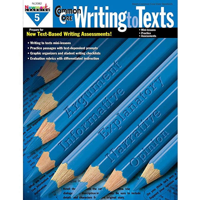 Common Core Practice Writing to Texts Grade 5