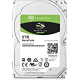 Seagate BarraCuda 5TB Internal Hard Drive HDD – 2.5 Inch SATA 6Gb/s 5400 RPM 128MB Cache for Computer Desktop PC (ST5000LM000