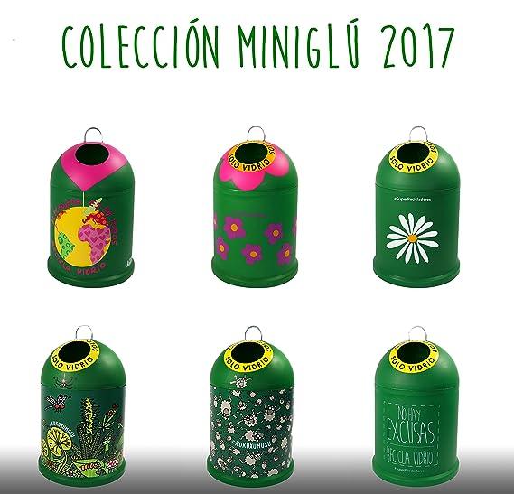 Miniglu Mini contenedor ovejitas para reciclaje de visrio: Amazon.es: Hogar