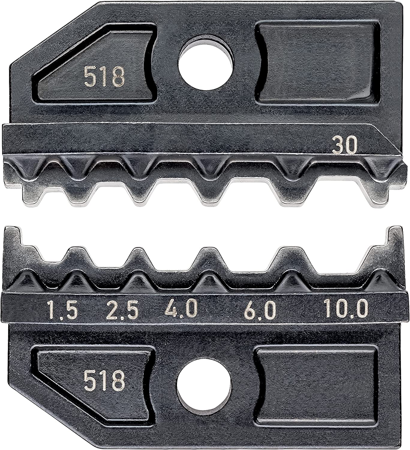 Knipex 97 49 30 1 Super Special SALE held Max 78% OFF 5-4mm butt non-insulated con for Crimping Dies