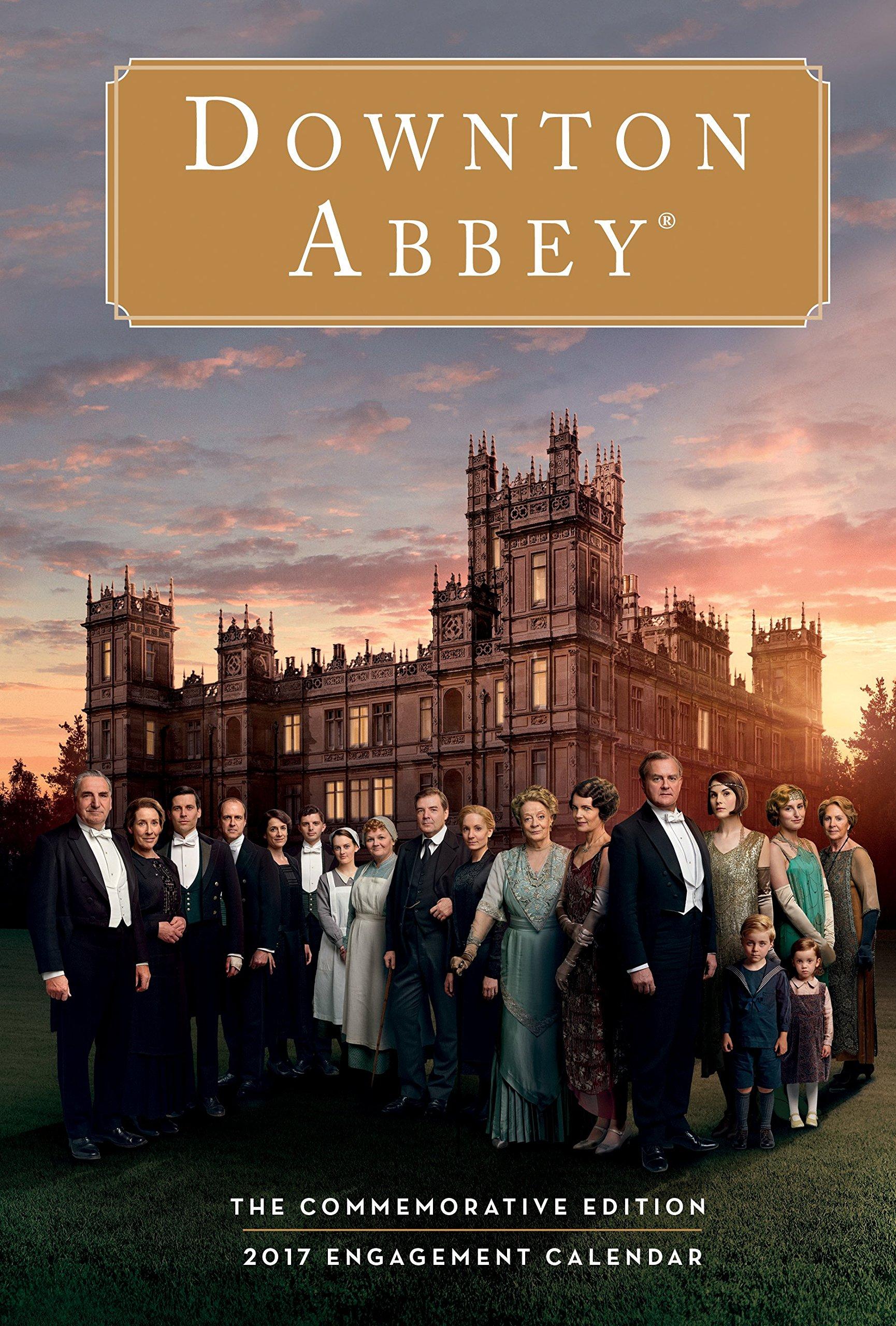 Read Online Downton Abbey Engagement Calendar 2017 PDF
