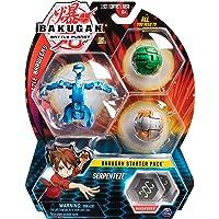 Bakugan Starter 3 Pack - Mix 2 - Peonzas (Batalla de trompos, Multicolor, De plástico, 6 año(s), Niño/niña, China…