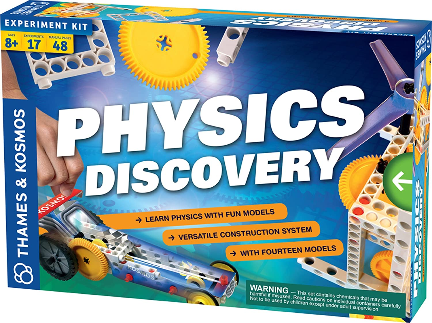 Thames Kosmos Physics Discovery Toys Games Amazoncom Snap Circuits Motion Electronics Kit