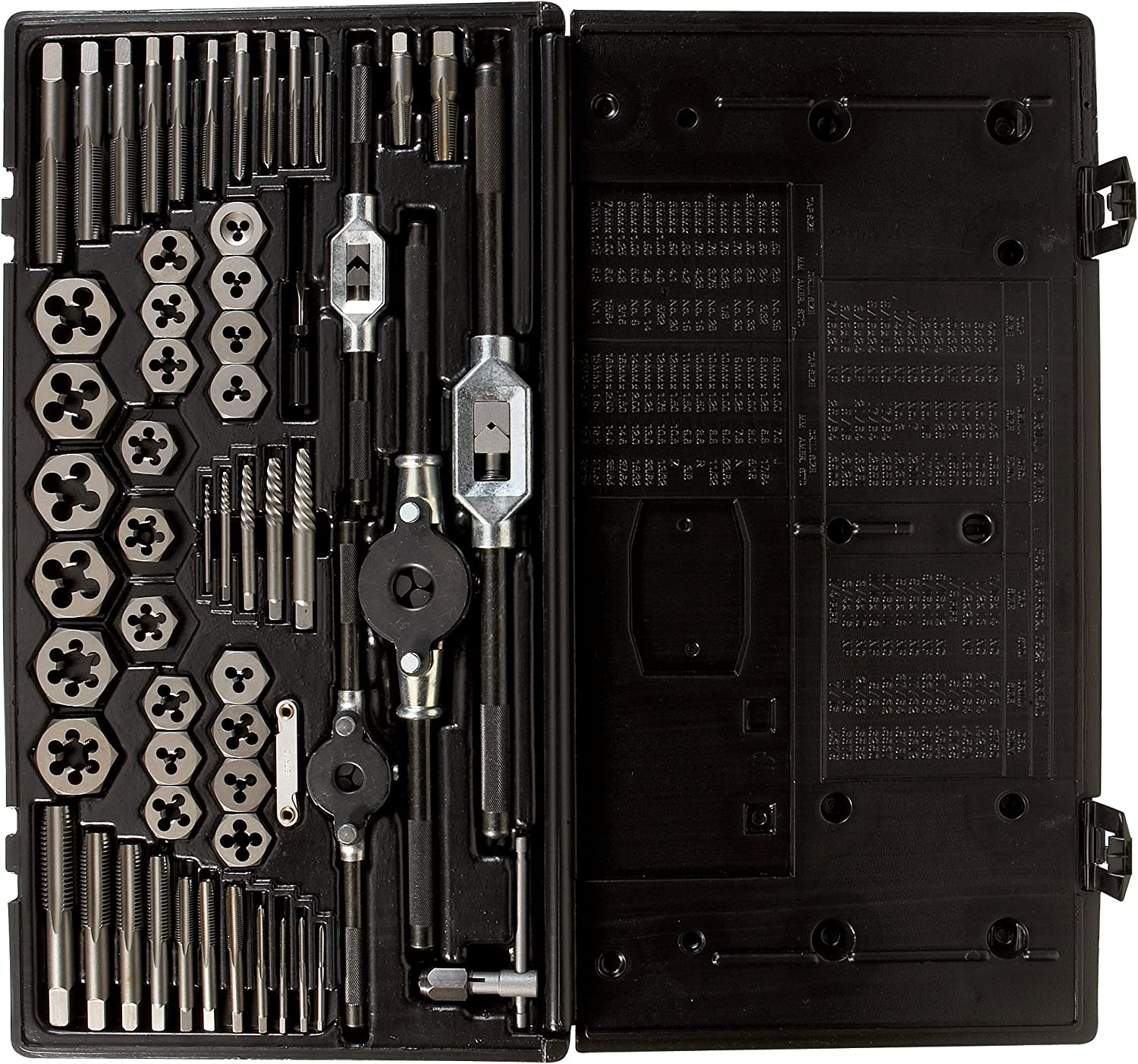 Vermont American 21750 58-Piece Professional Tap and Die Set with Plastic Case