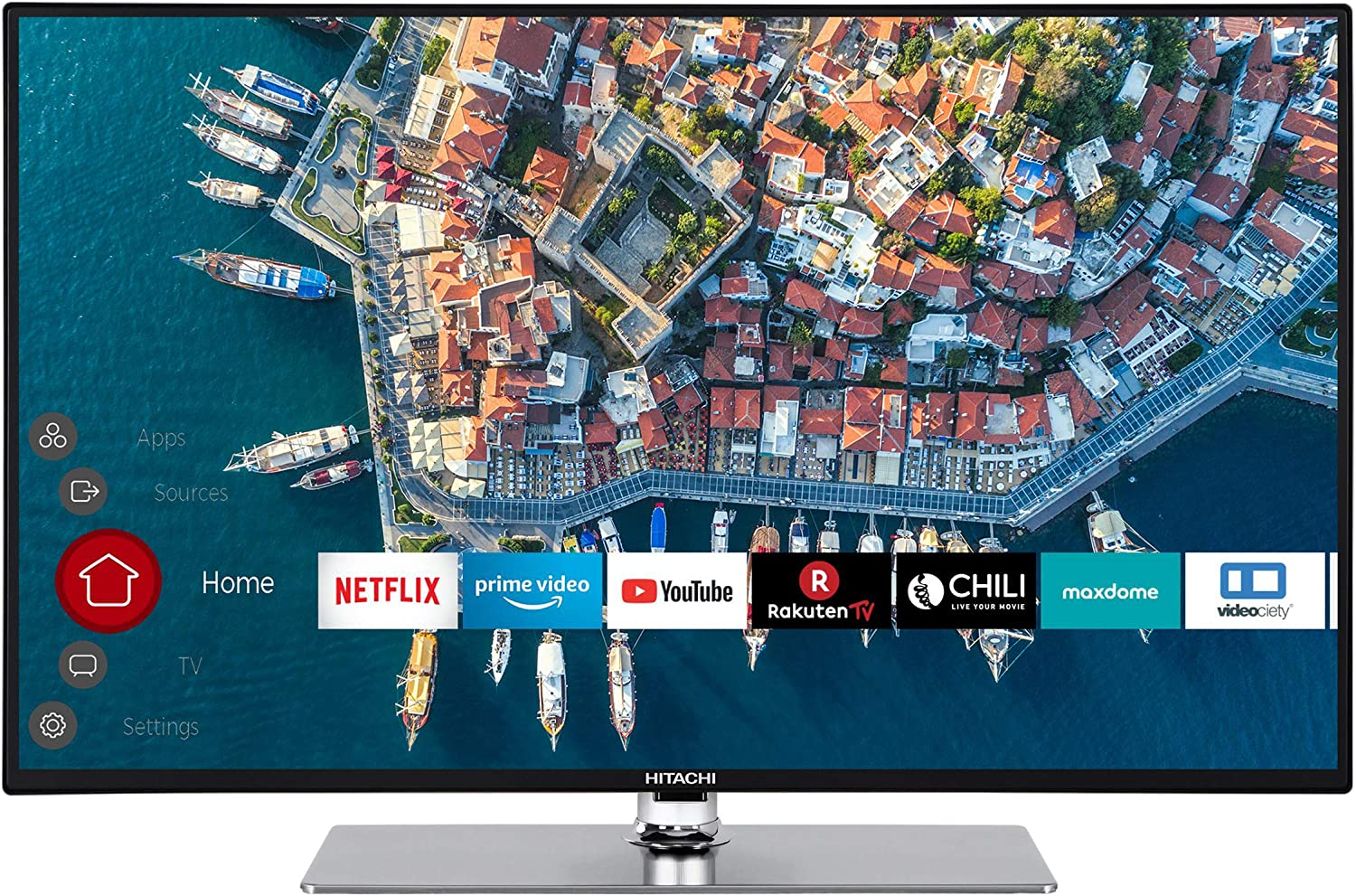 Hitachi Televisor inteligente F32L4001 (Full HD con Prime Video, listo para Alexa, Bluetooth, sintonizador triple, PVR) 32