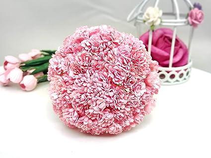 Amazon Com Tyga Thai Brand 100 Pcs Pink Color Gypsophila Flower