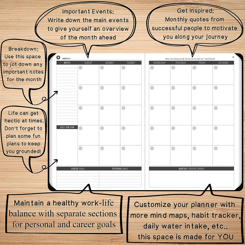 Amazon.com: Power Planner - Mejor diario semanal objetivo ...
