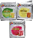 Tassimo Twinings Tee Set Deluxe, 3 Flavours, 48 T-Discs