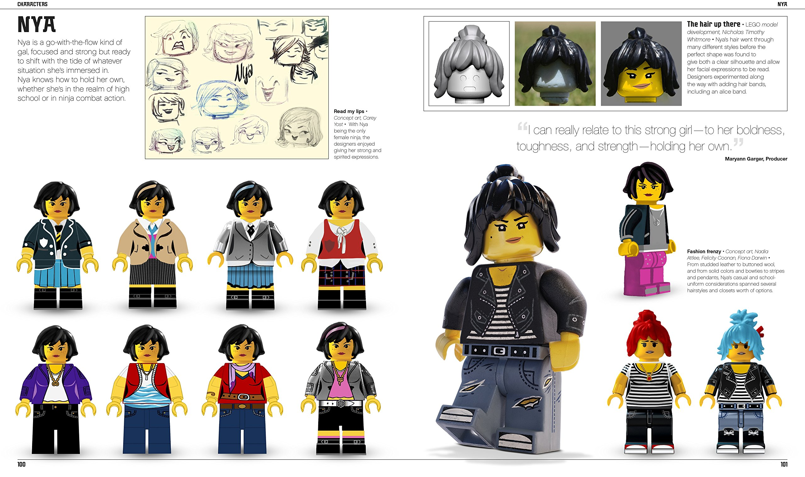 The LEGO® NINJAGO® MOVIE The Making of the Movie: Tracey ...