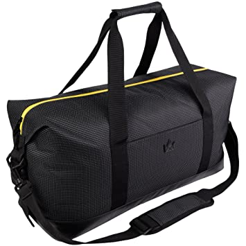 4c963f84662 Amazon.com   Weekender Bag, Lightweight Overnight Duffel - Travel Carryall  for Stylish Men and Women, 25L - KÅBO   Travel Totes