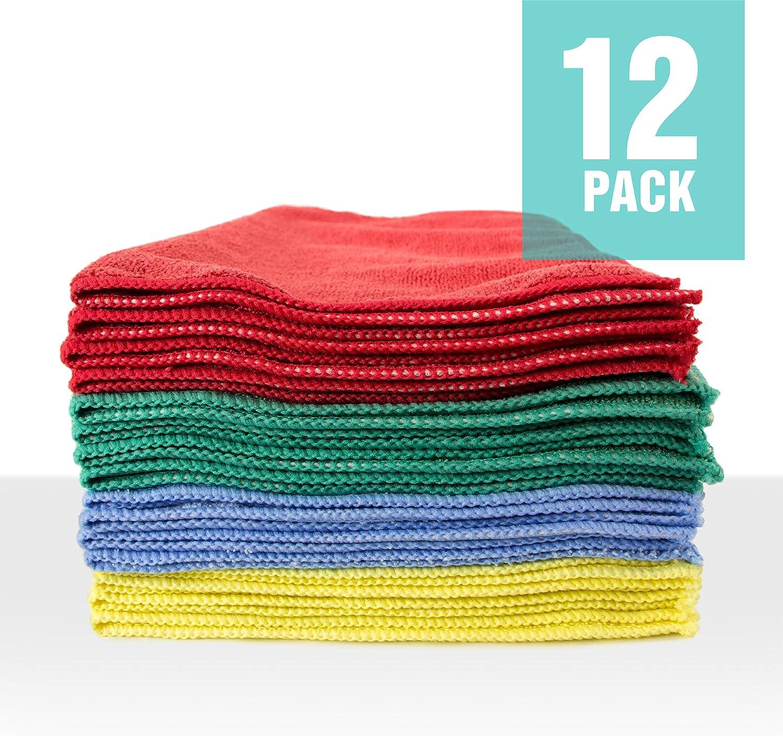 Chemical Guys MIC35703 Black 16 x 16 Happy Ending Edgeless Microfiber Towel 3 Pack