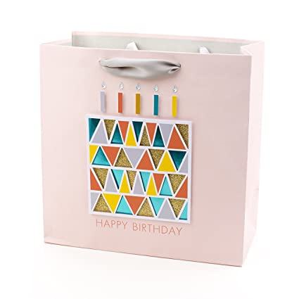 Amazon Hallmark Signature Large Birthday Gift Bag Triangle