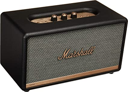 Marshall Stanmore II powered bluetooth speaker with Google Assistant (black)