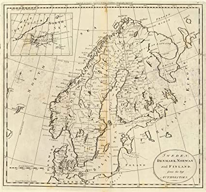 Amazon world atlas 1796 sweden denmark norway and finland world atlas 1796 sweden denmark norway and finland historic antique vintage gumiabroncs Images