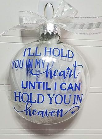 Amazoncom Amys Bubbling Boutique Memorial Ornament Christmas
